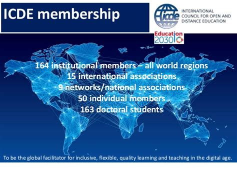 To Be the Global Facilitator for Inclusive, Flexible