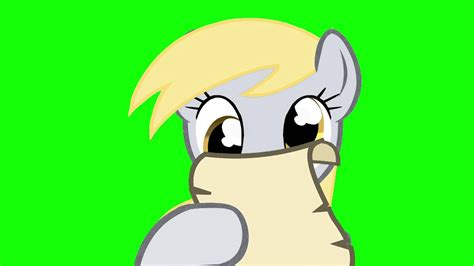 MLP - Derpy Dirty Tongue Twister Green Screen - (DOWNLOAD