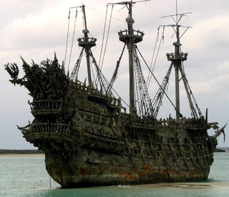 The legend of the Flying Dutchman concerns a ghost ship