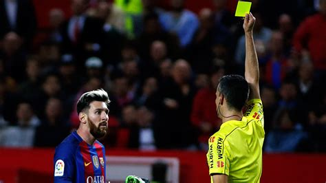 Barcelona make second appeal over Messi yellow card