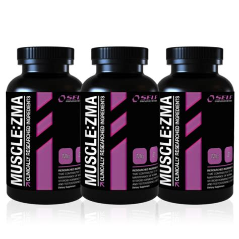 3 for 2 - Self Muscle ZMA - 3x120 kapsler - Extreme Fitness AS