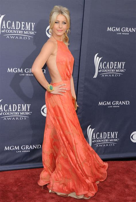 Julianne Hough - The Most Daring Red Carpet Dresses Ever