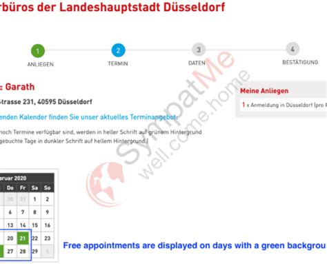 We help you to register your residence in Dusseldorf