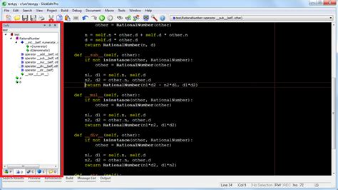 SlickEdit has the most powerful Python code editing