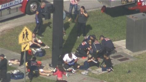 Parents react - Shooting at high school in Parkland