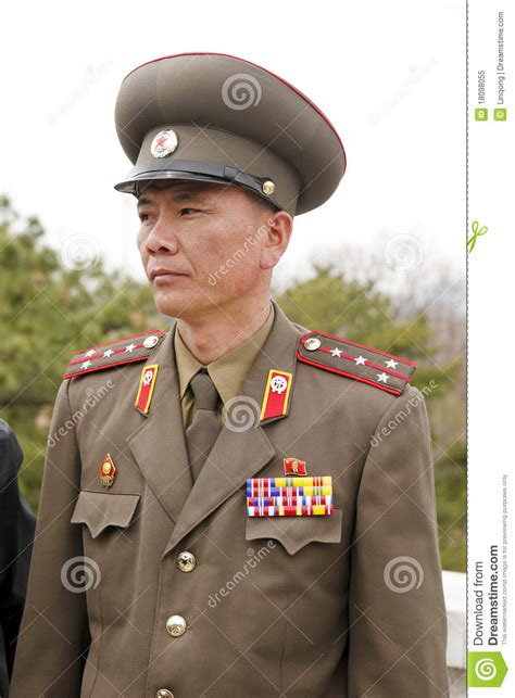 North Korean Military Officer Editorial Image - Image