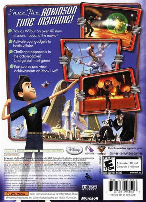 Meet the Robinsons for Xbox 360 - Sales, Wiki, Release