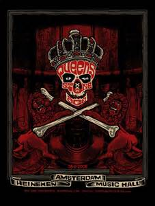 monkeyink:blog: Queens of the Stone Age Amsterdam Poster