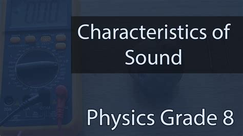 Sound | Characteristics Of Sound | Examples & Diagrams