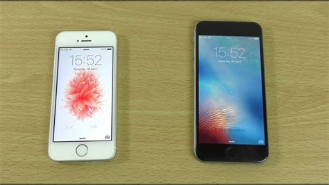 Apple iPhone SE vs iPhone 6 - Speed & Battery Test! - YouTube