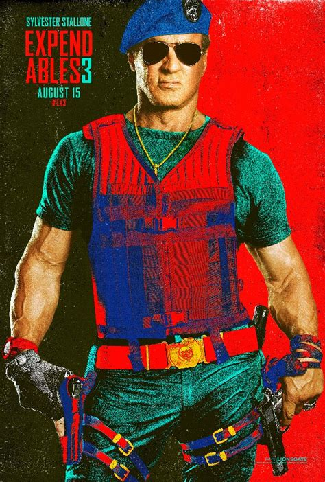 Expendables 3 Comic-Con Character Posters Hit - Movienewz