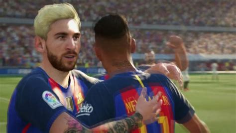 Blonde Messi features in FIFA 17 | MARCA English