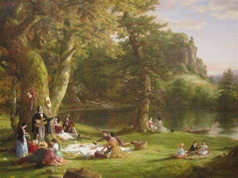 """File:Thomas Cole's """"The Picnic"""", Brooklyn Museum IMG 3787"""