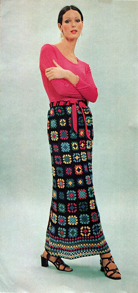 Musings from Marilyn » Vintage 70s Granny Square