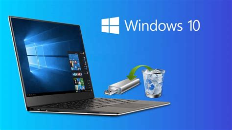 How To Create A Windows 10 Recovery Disk On USB - The Tech