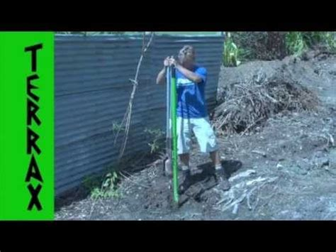 AMAZING DIGGING TOOL chop tree roots with ease - YouTube