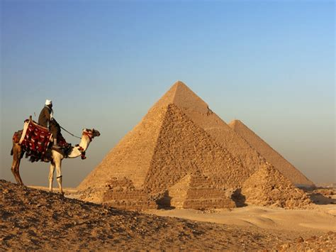 Old Kingdom Pyramids and statues | Ancient Egypt