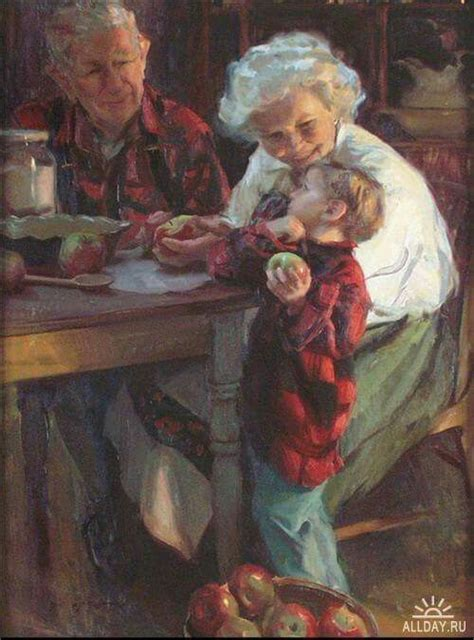 Grandma and Grandpa with little one | Grandparents and