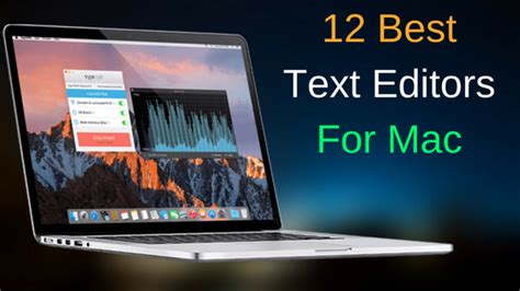 12 best Mac Text Editors for note taking to programming
