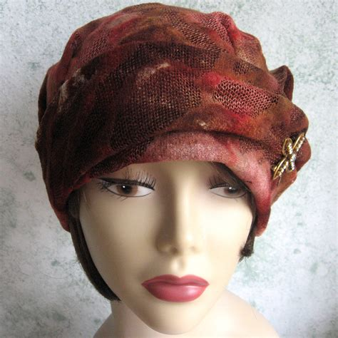 1930s Womens Vintage Hat Pattern PDF Easy To Make Chemo Hair