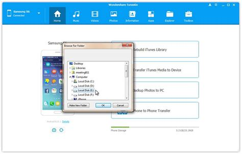 Manage Samsung Galaxy Note 8 on Computer Safely