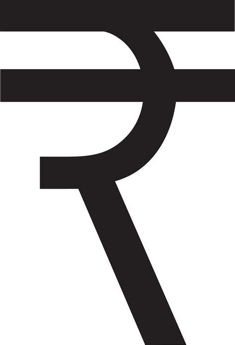 Fun with Letterforms: Customization of Rupee Symbol