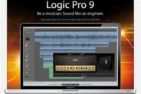 Logic Pro 9 now available in Mac App Store for $199
