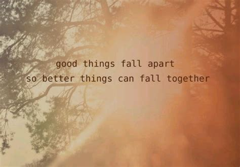 Everything Is Falling Apart Quotes