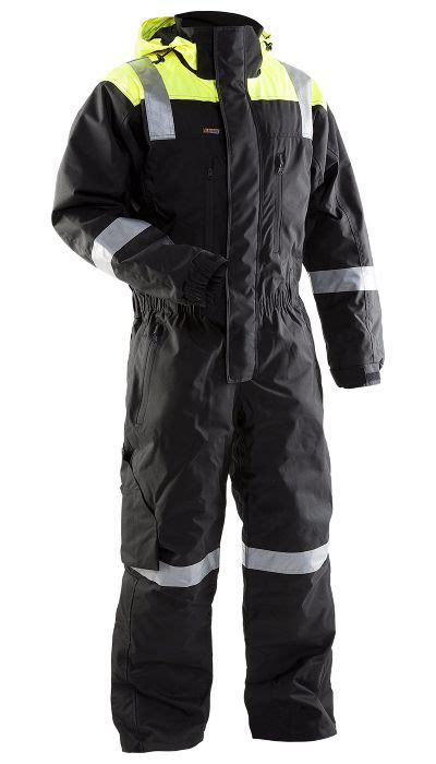 Blaklader 6786 Shell Coverall Black Yellow