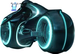Tron Legacy Lightcycle (PSD) | Official PSDs