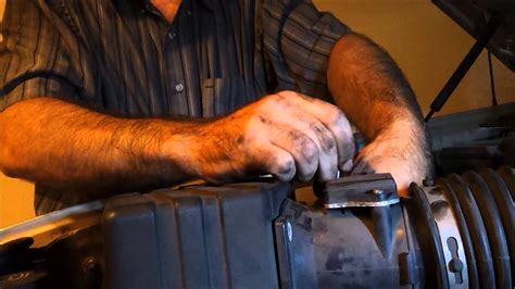 2002 Ford Explorer MAF and intake cleaning - YouTube
