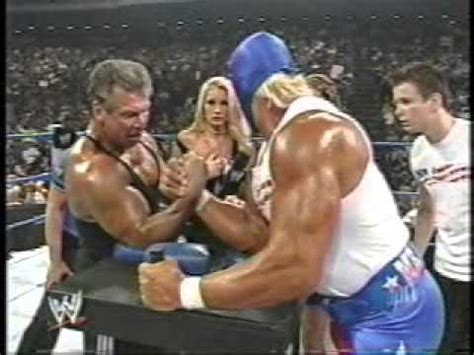 Arm Wrestling with Vince McMahon - YouTube
