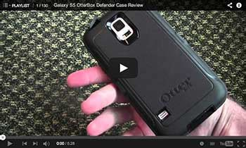 Galaxy S5 OtterBox Defender Case review, install and