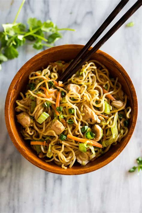 Easy Chinese Chow Mein - Tastes Better from Scratch