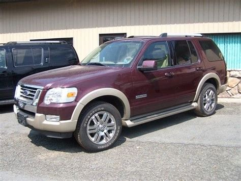 Sell used 2007 Ford Explorer Eddie Bauer Sport Utility 4