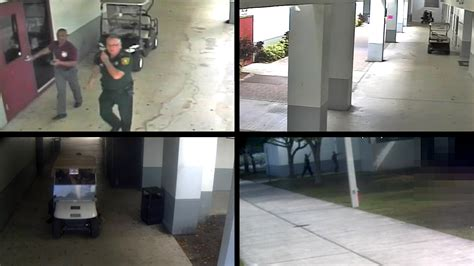 Parkland Shooting Surveillance Video Shows Deputy Remained