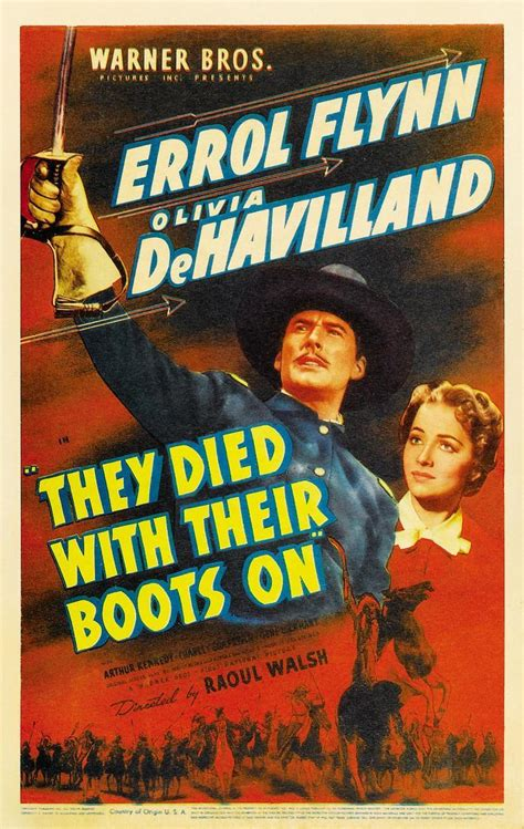 They Died with their Boots On (1941) - FilmAffinity