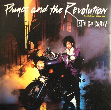 """Prince And The Revolution - Let's Go Crazy (Vinyl, 12"""", 45"""