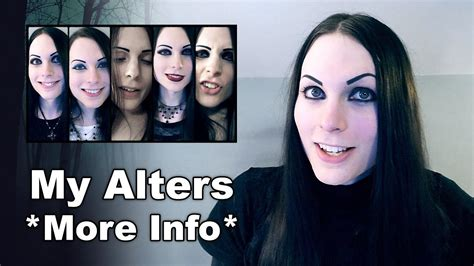More Info About My Alters / Personalities | Dissociative