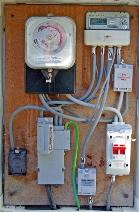 New meter and Isolation switch   DIYnot Forums