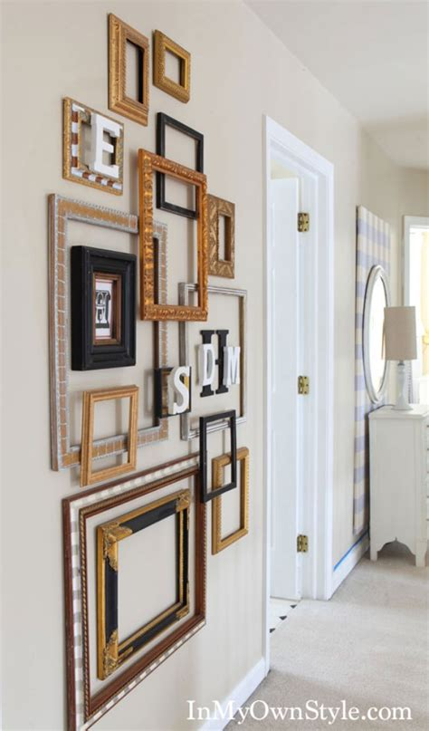 15 Ways to Decorate with Picture Frames Like a Pro – Tip