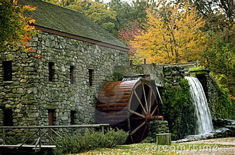 Fall Mill Royalty Free Stock Photography - Image: 40347