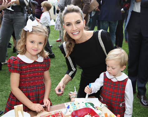Elizabeth Chambers and Harper Grace Hammer Photos Photos