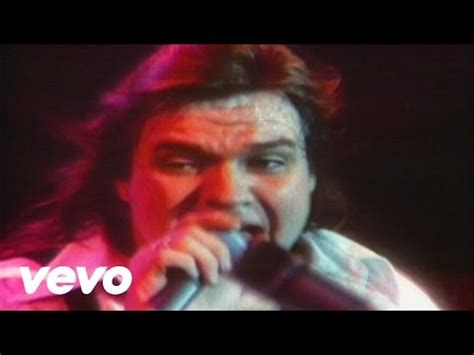 Meat Loaf - Paradise By The Dashboard Light - YouTube