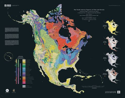 The North America Tapestry of Time and Terrain | USGS I