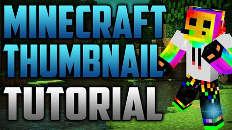 HOW TO MAKE EPIC PROFESSIONAL MINECRAFT THUMBNAILS IN